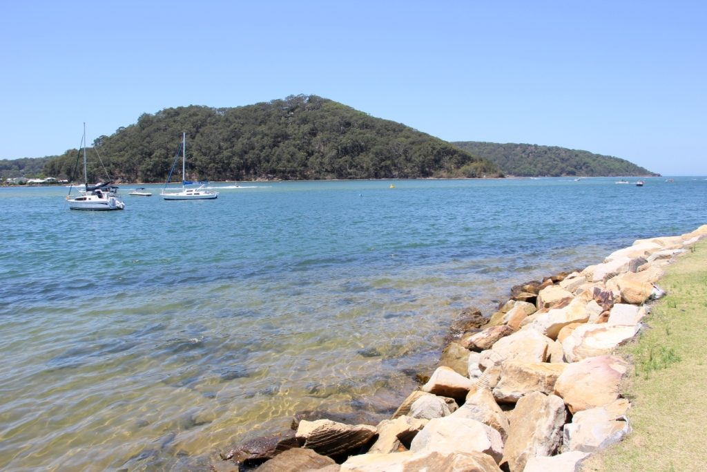 Pristine waters of the Ettalong