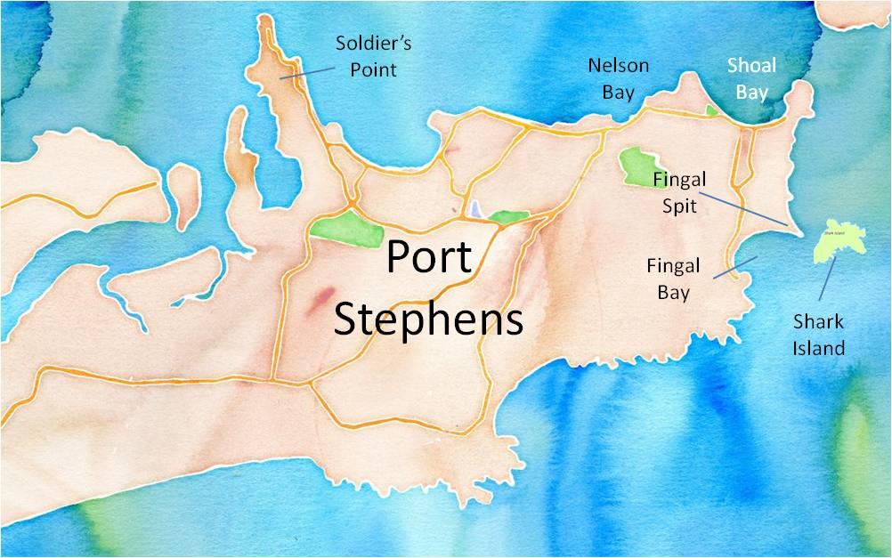 The rhino headed Port Stephens