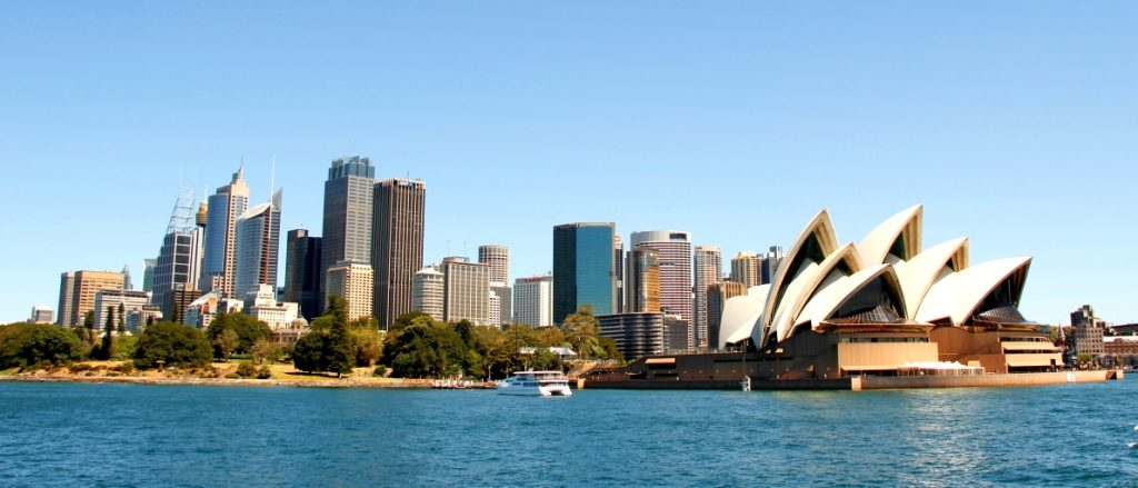 The quintessential cityscape without which any cruise in Sydney is incomplete